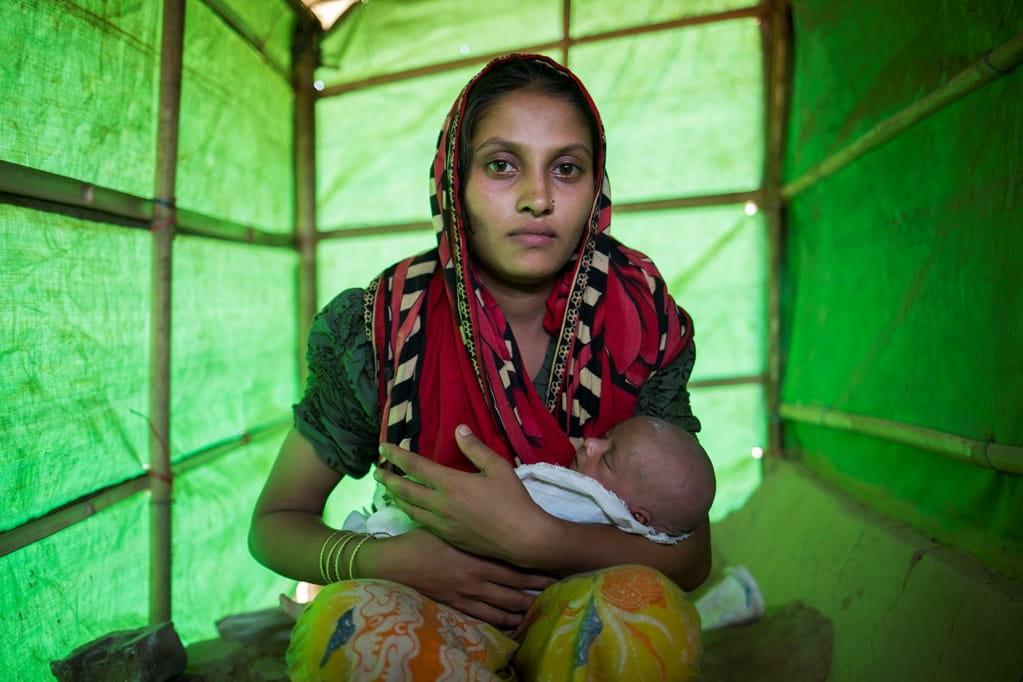 Woman in Cox's Bazaar, Bangladesh