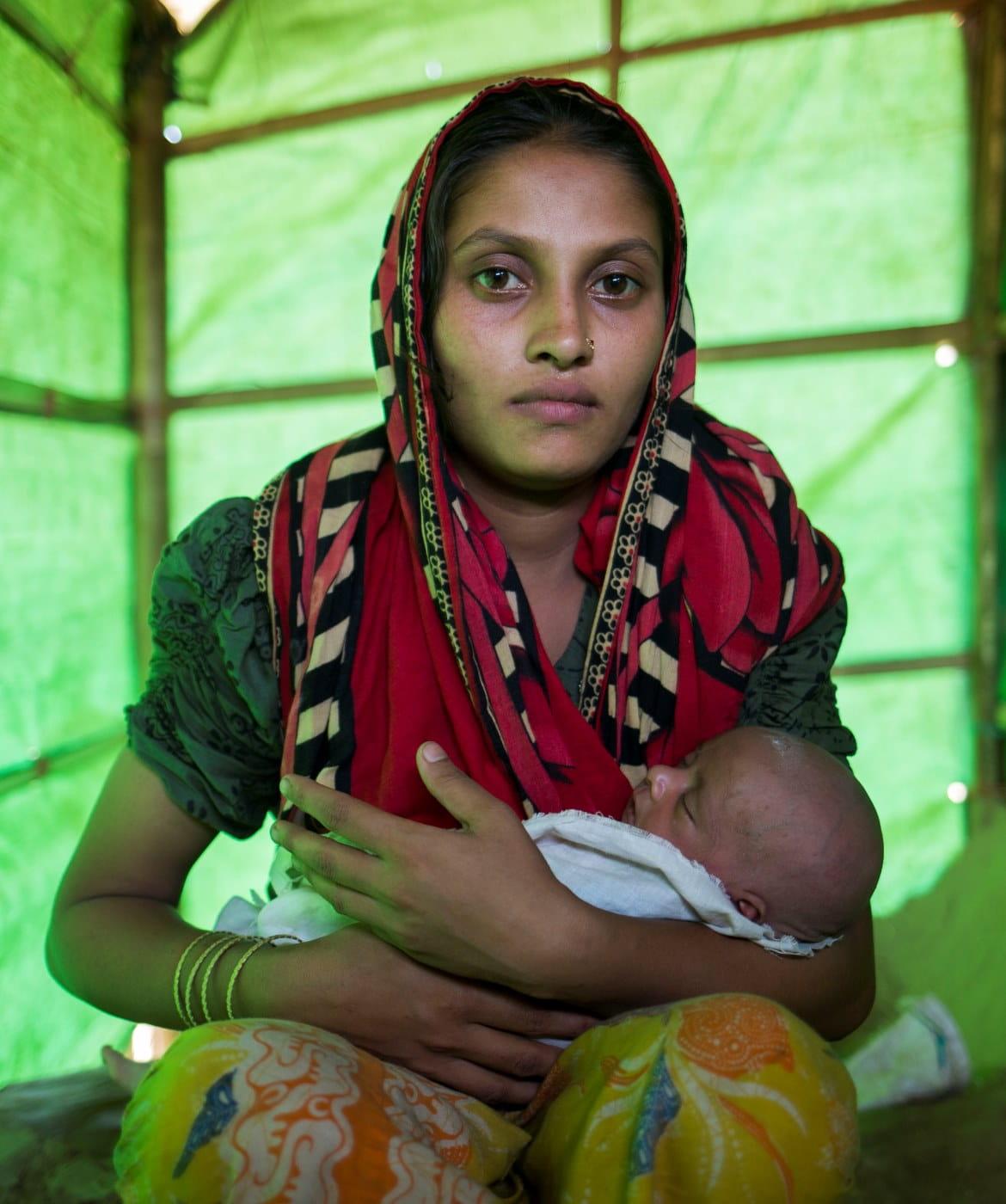 Woman and Baby - Yemen