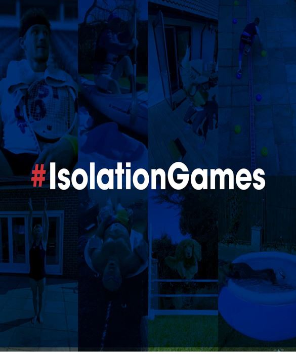 Isolation Games - recreate the summer of sport in your home
