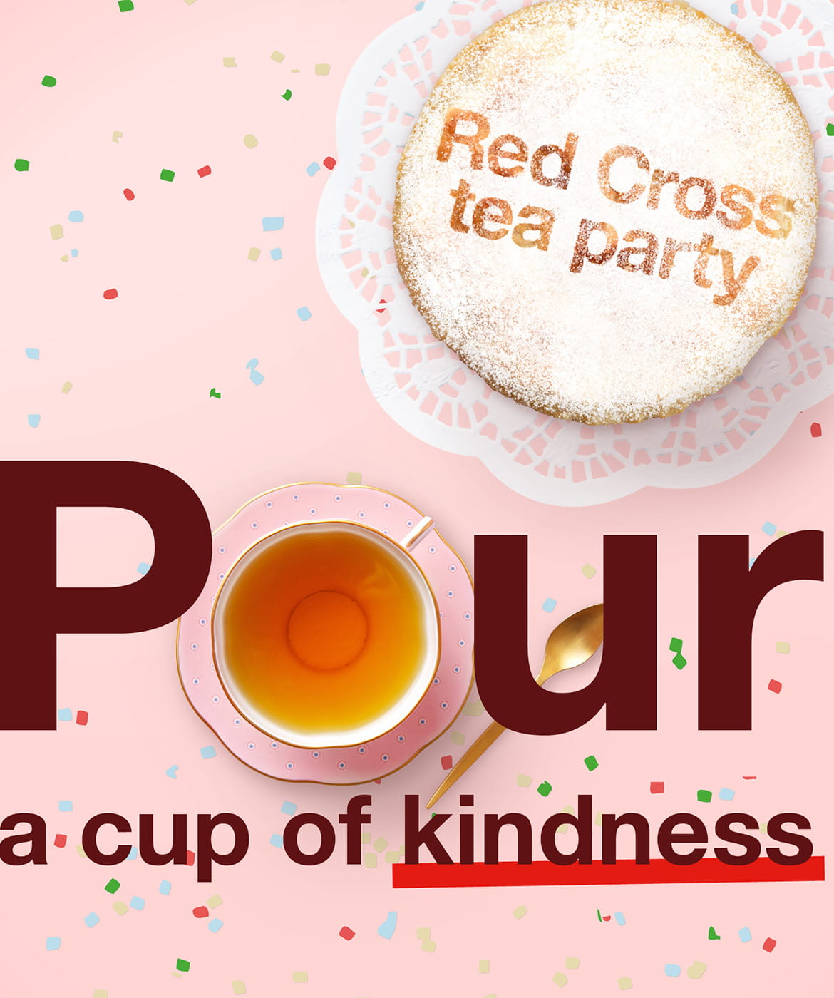 Pour a cup of kindness logo