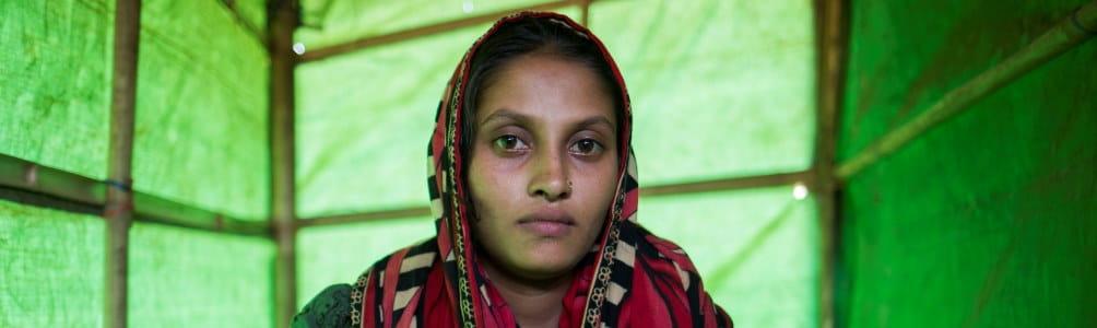 Woman in Cox Bazar Bangladesh