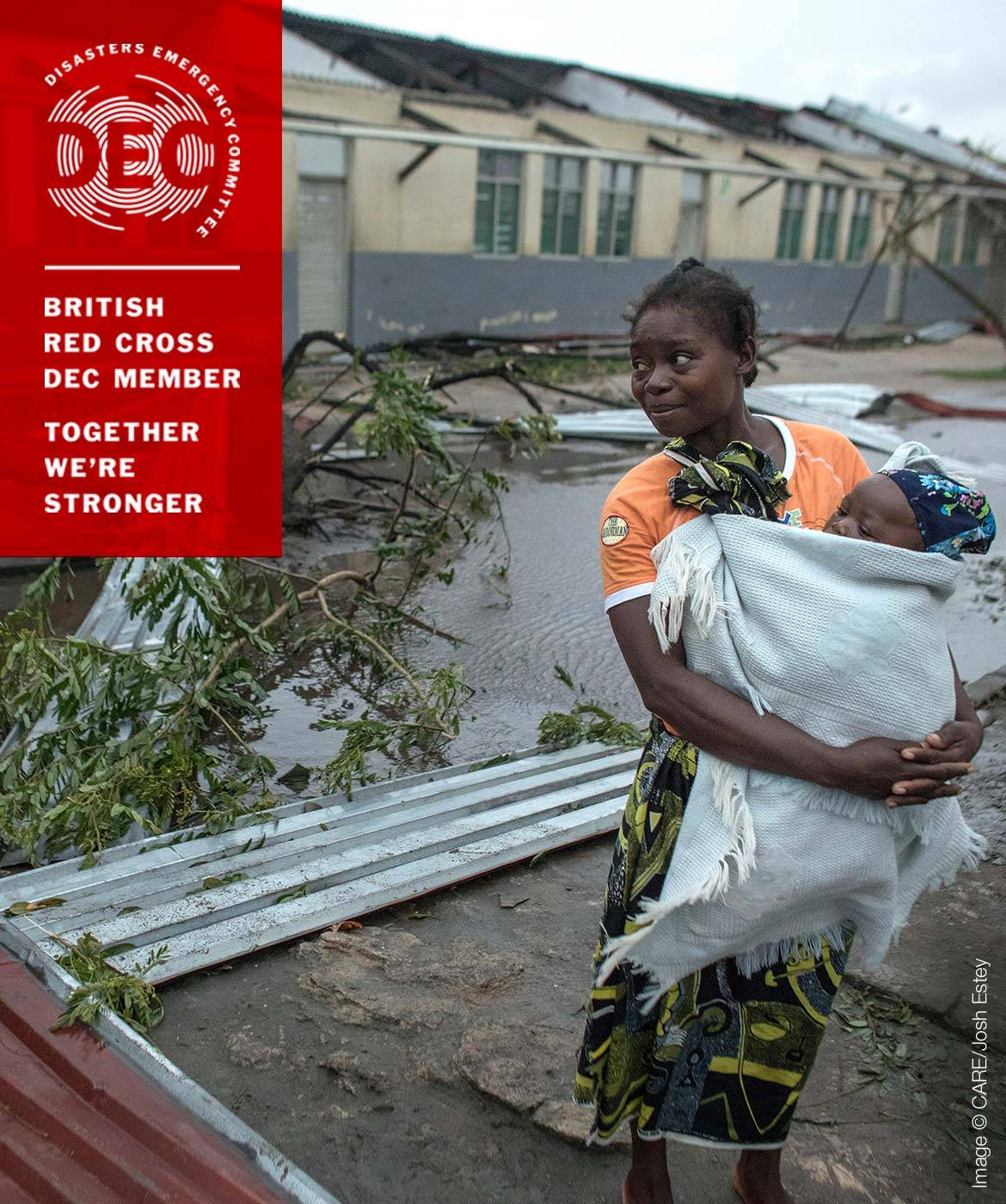 Devastation after Cyclone Idai